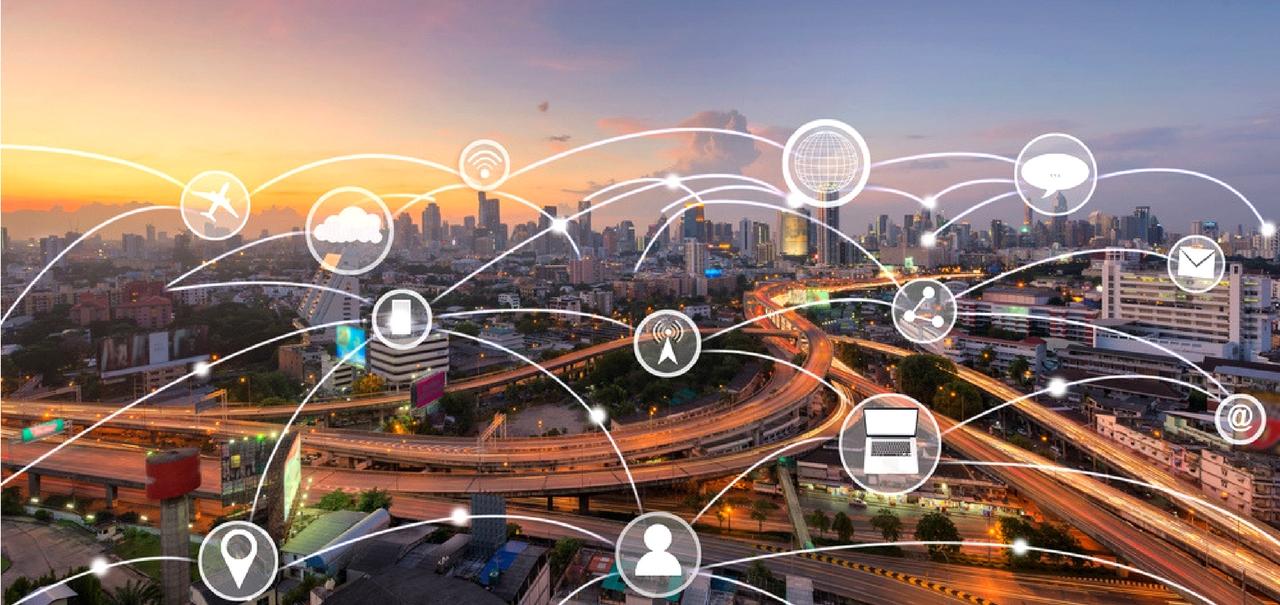 E-Government- Vernetzung visualisiert
